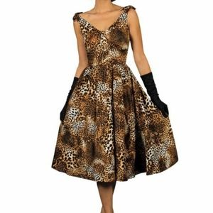 Stop Staring! Estello Swing Dress ESTLO-01 Leopard